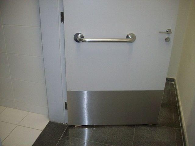 Favoritos Chapa de proteção para porta - CRISMOE JI02