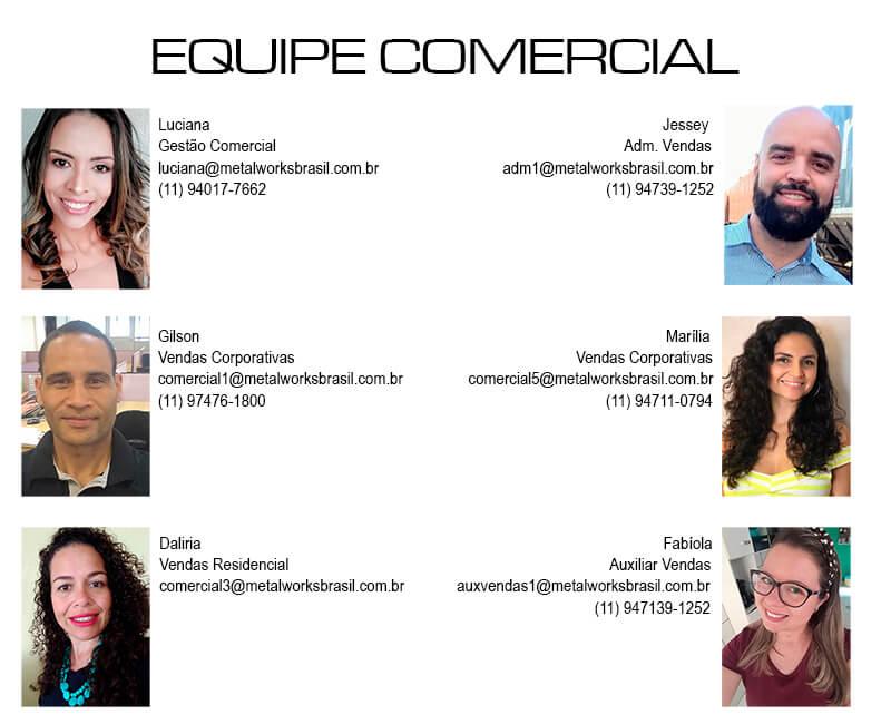 Equipe Comercial