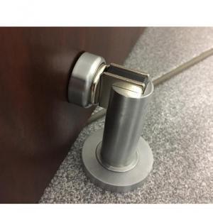 Prendedor de porta magnético cromado